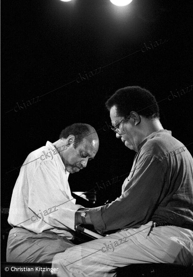 Kenny Barron & Cedar Walton Marciac 1993