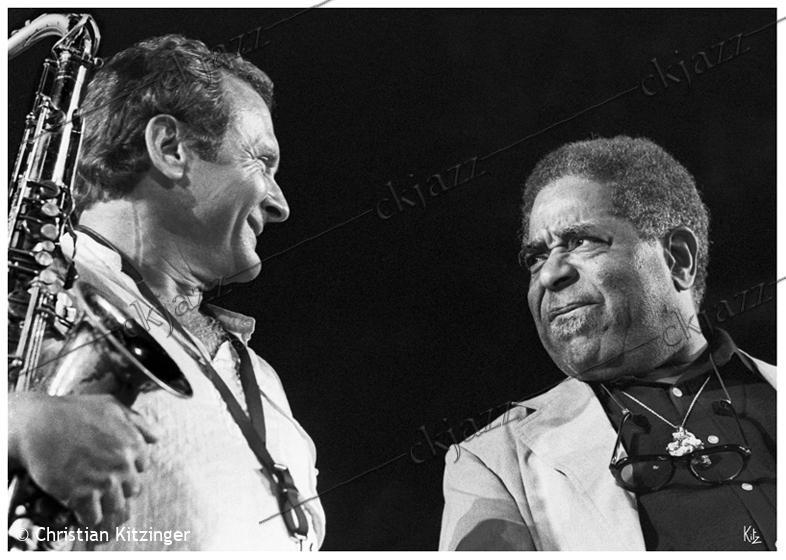 Stan Getz & Dizzy Gillespie Nice 1979