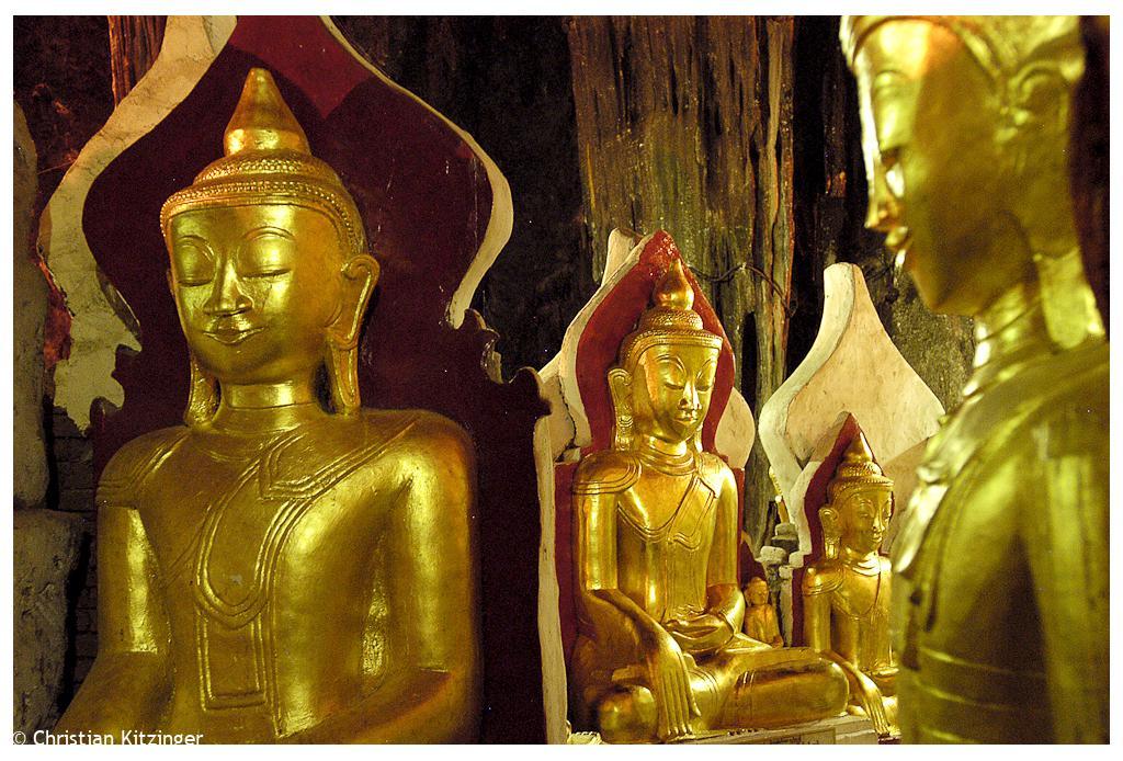 Pindaya Grotte aux 8000 boudhas