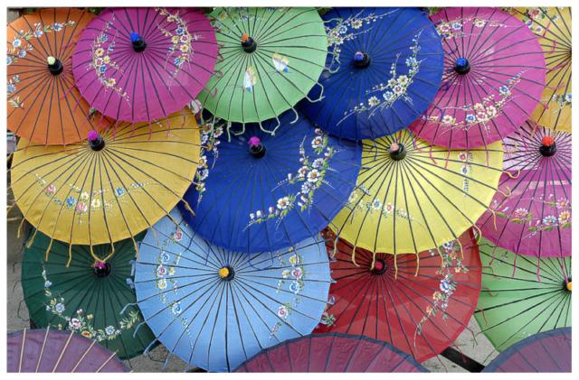 Pindaya Fabrique d'ombrelles