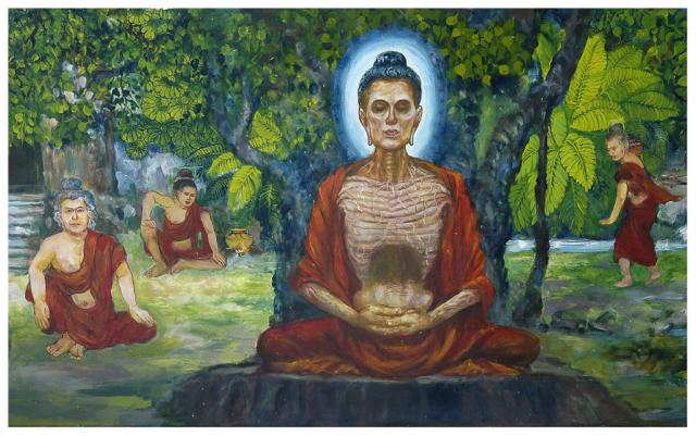 Sagaing 2006 dans la Pagode U Ponya Shin