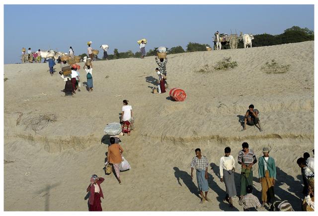 Débarcadère sur L'Irrawaddy