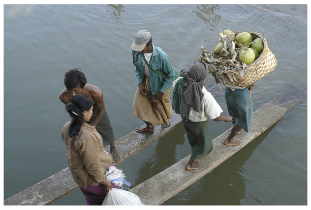 Irrawaddy entre Mandalay et Bagan