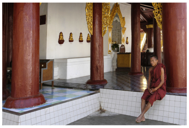 Nyaung U 2006, paya Shwé Zigon