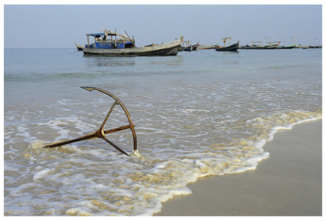 Plage de Ngapali, Golfe du Bengale 2007