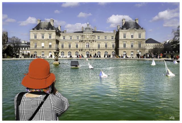 Jardin du Luxembourg - Sénat Paris