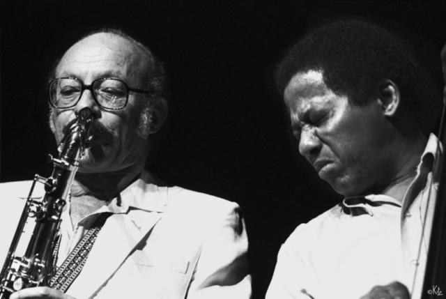 Guy Lafitte et Jimmy Woode Marciac 1981