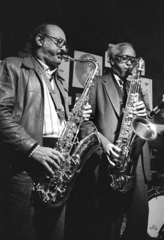 Guy Lafitte et Sonny Stitt Toulouse 1982