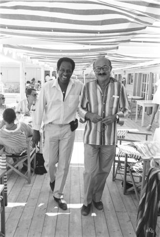 Michel Sardaby Guy Lafitte Ramatuelle 1987