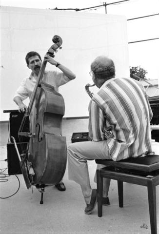 Horacio Fumero Guy Lafitte Ramatuelle 1987