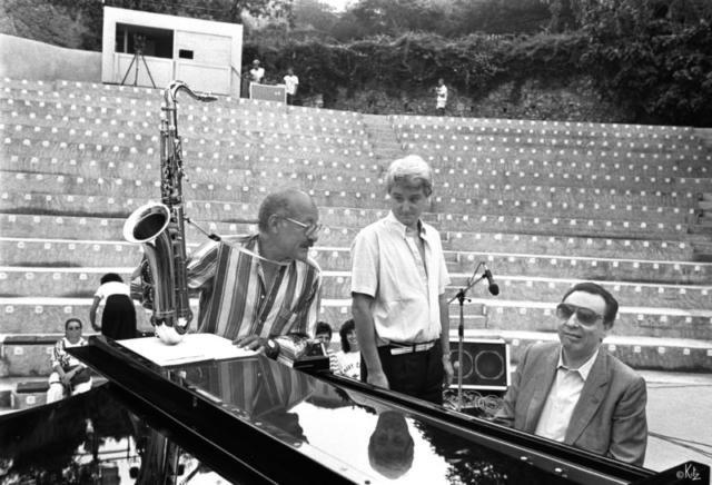 Guy Lafitte Jordi Suñol Tete Montoliu Ramatuelle 1987