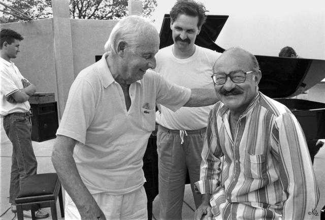 Stéphane Grappelli Denis Antoine Guy Lafitte Ramatuelle 1987