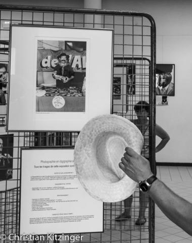 """Premier tirage de l'exposition Kitz 1983-84 """" Sous les arcades 1983 """""""