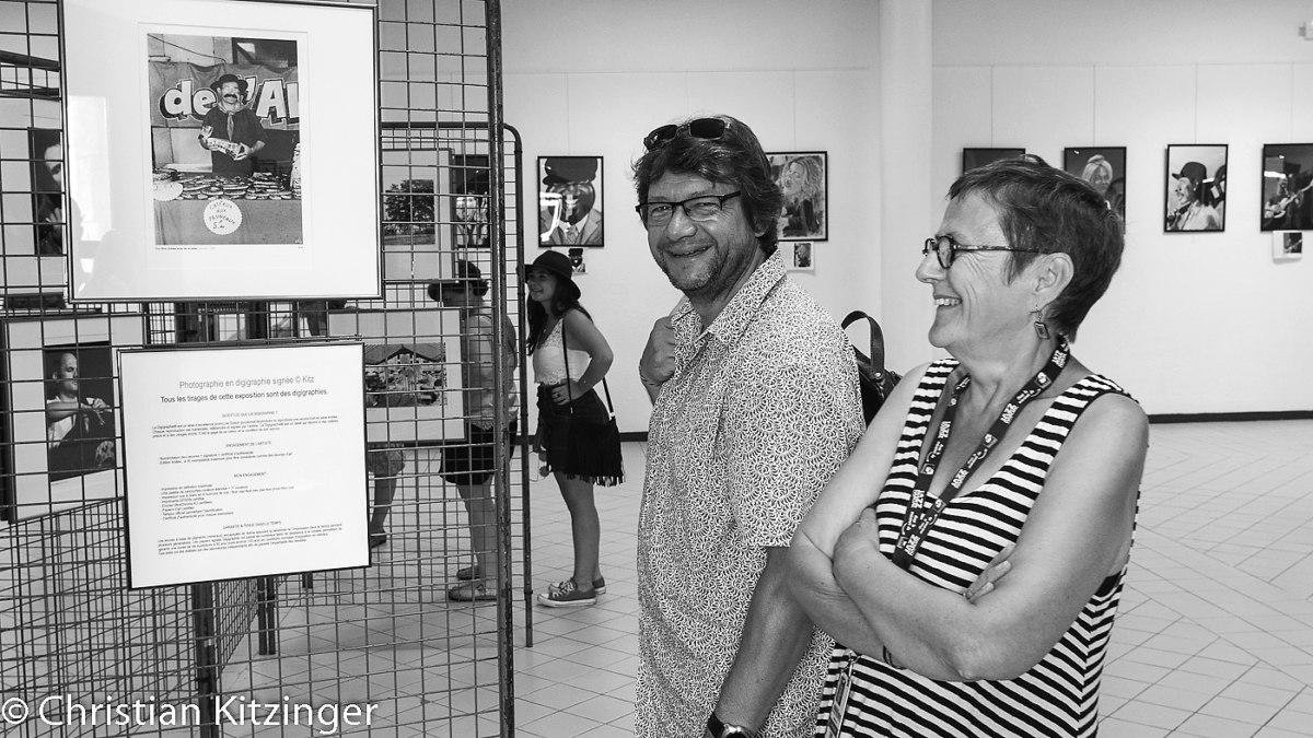 Premiers visiteurs expo archives Kitz 1983-1984