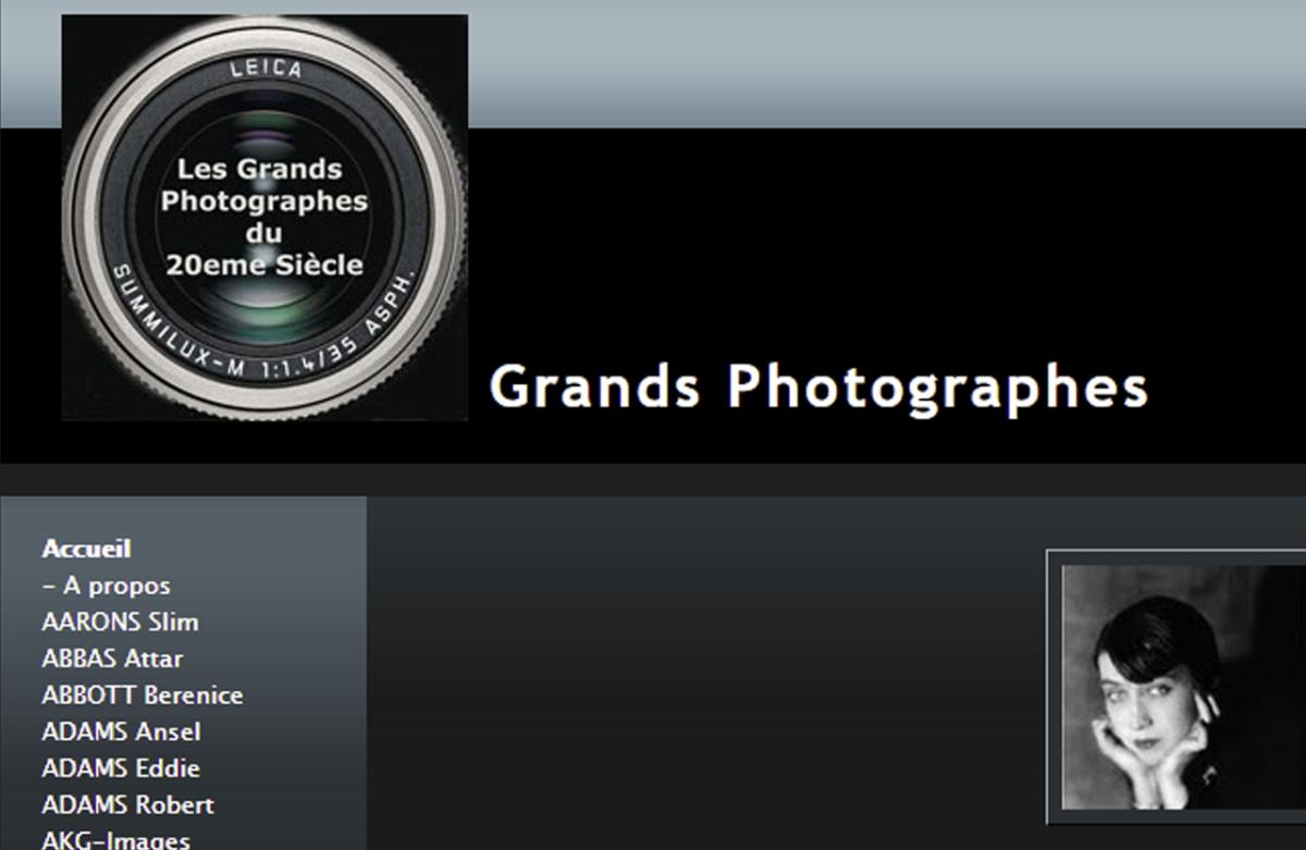 Grands photographes du XXe siècle