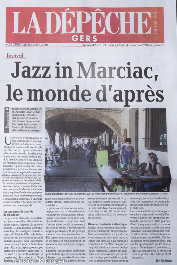 La Dépêche du Midi - Jazz in Marciac
