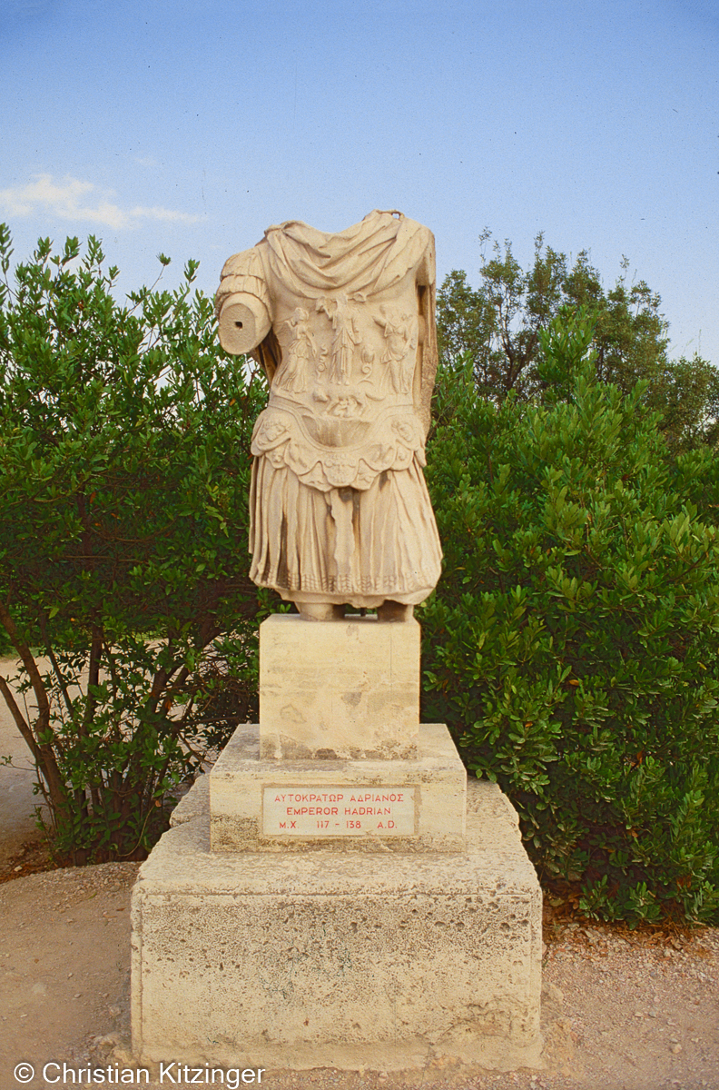 emprereur hadrian - Grèce