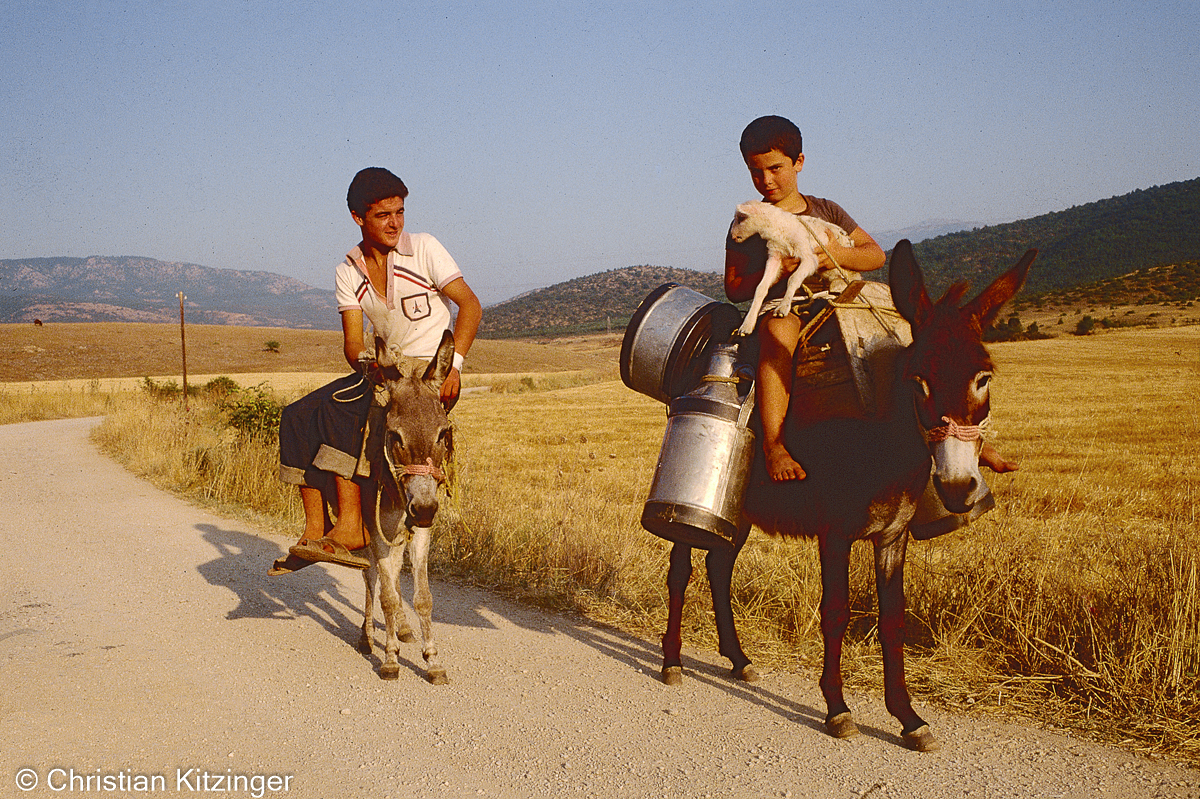 vers Mystra - Grèce
