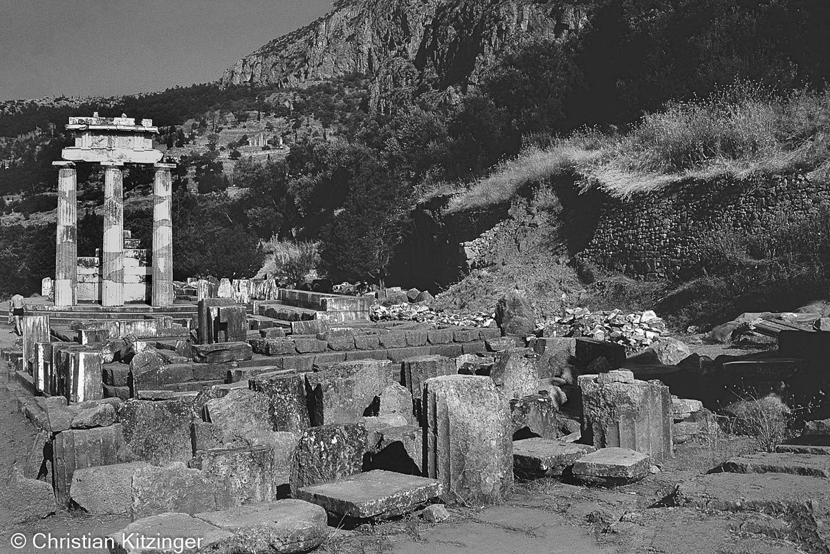 Delphes -sanctuaire panhellénique dédié à Apollon - Grèce
