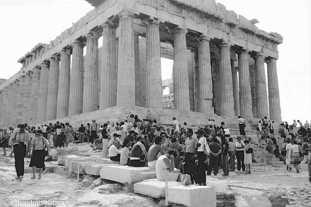 Le Parthénon - Athènes - Acropole Grèce