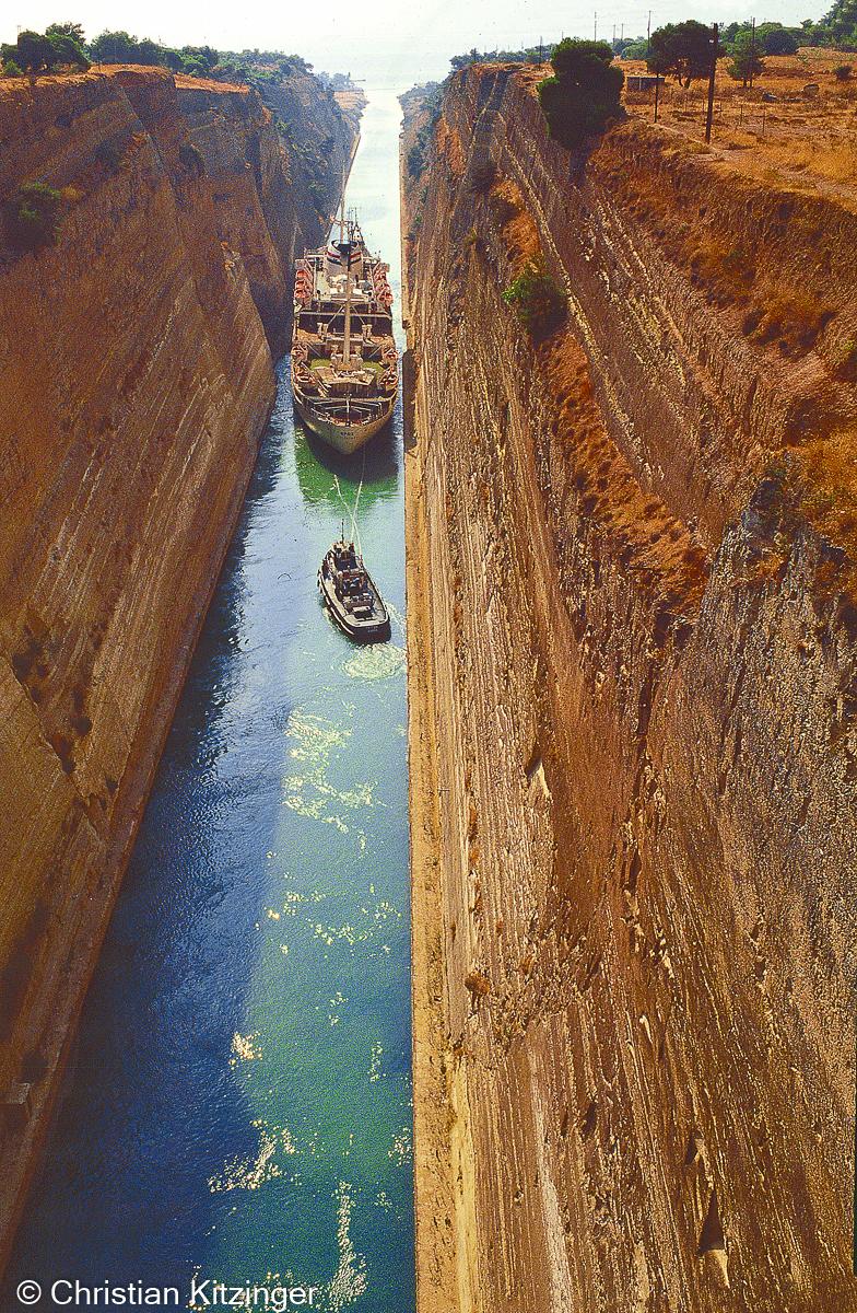 Canal Corynthe - Grèce