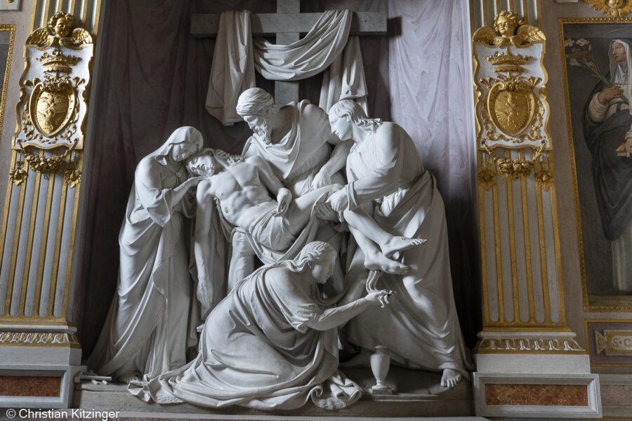 Déposition Eglise de la Trinité-des-Monts