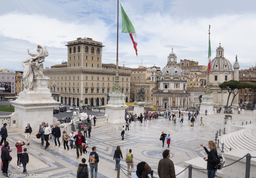 Place Monument à Vittorio Emanuele II