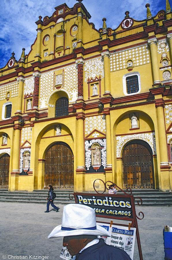 Cathédrale dédiée à la vierge de l´Ascension San Cristobal de Las Casas