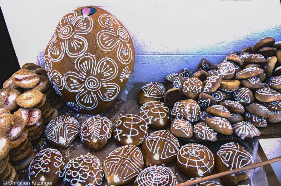 Les pains décorés Mexique