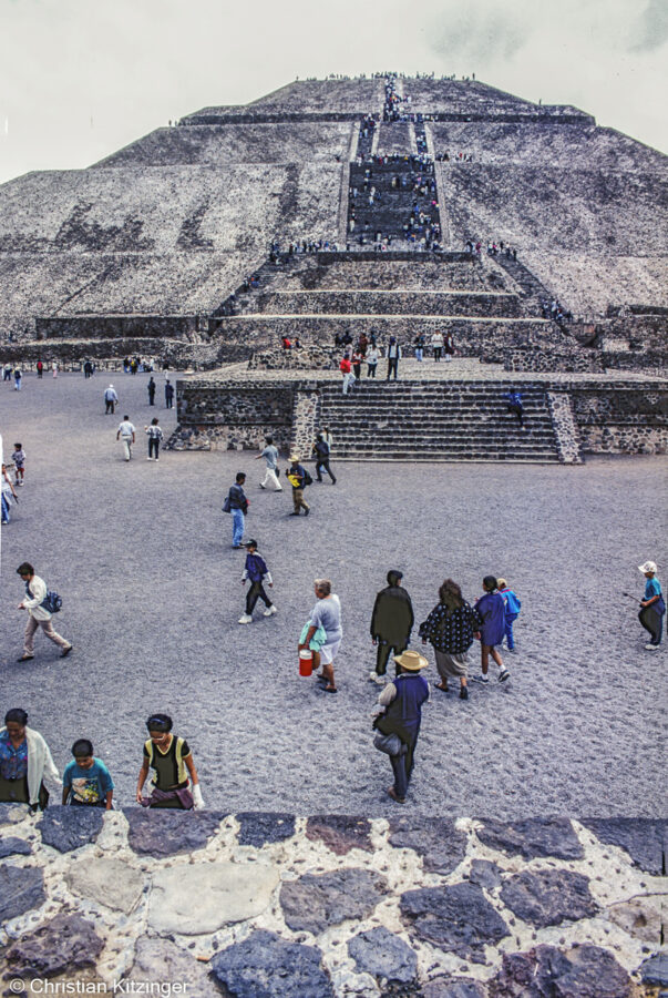 Pyramide du Soleil Teotihuacán